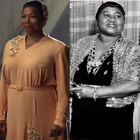 hattie mcdaniel and queen latifah