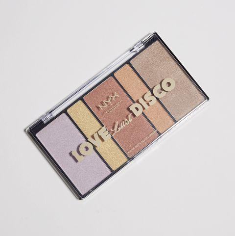 NYX Professional Makeup ラブ ラスト ディスコ ハイライトパレット