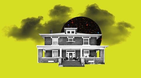 House, Property, Home, Architecture, Building, Roof, Illustration, Sky, Mansion, Tree,