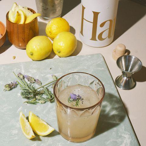 haus lemon lavender apertif