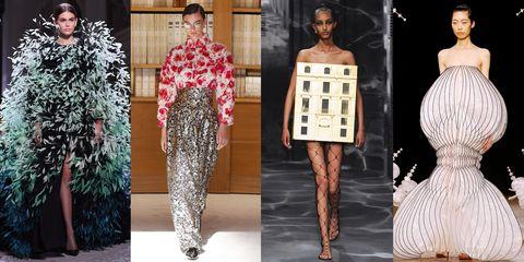 Fashion model, Fashion, Clothing, Haute couture, Dress, Fashion design, Runway, Style, Fashion designer, Pattern,