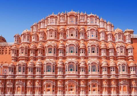 hawa mahal palace palace of the winds, jaipur, rajasthan