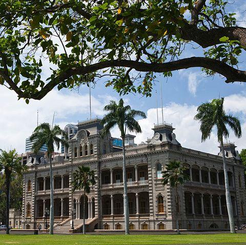 usa hawaii honolulu   iolani palace, former royal palace built 1879 82