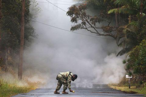 Volcanic Smog and Acid Rain from Hawaii Volcano