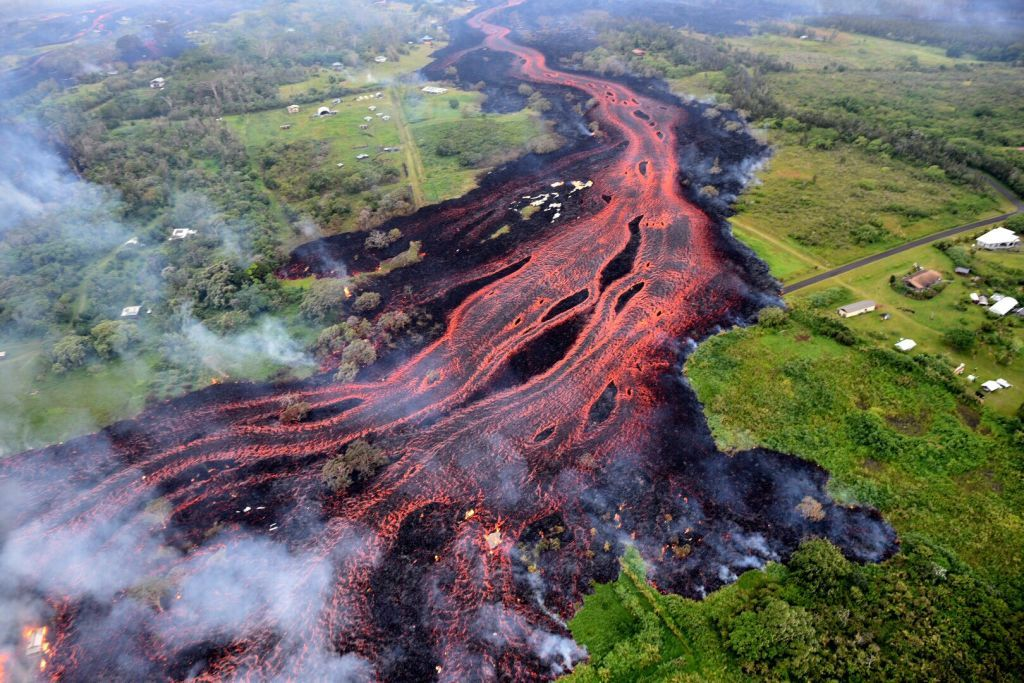 Kilauea Eruption in Hawaii