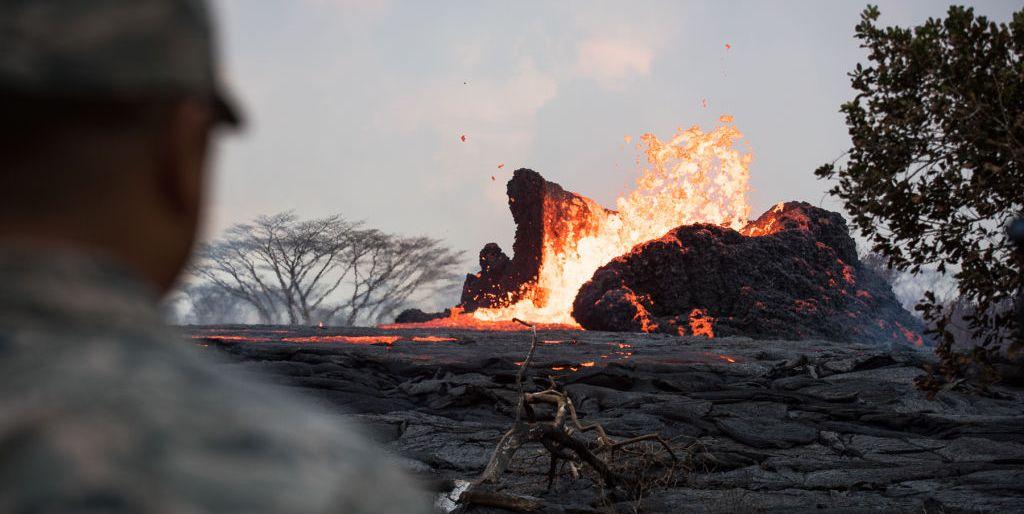 Kilauea Eruption in Hawaii