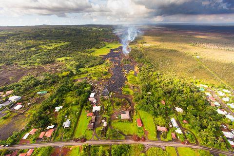 Hawaii Volcano Eruption 2014