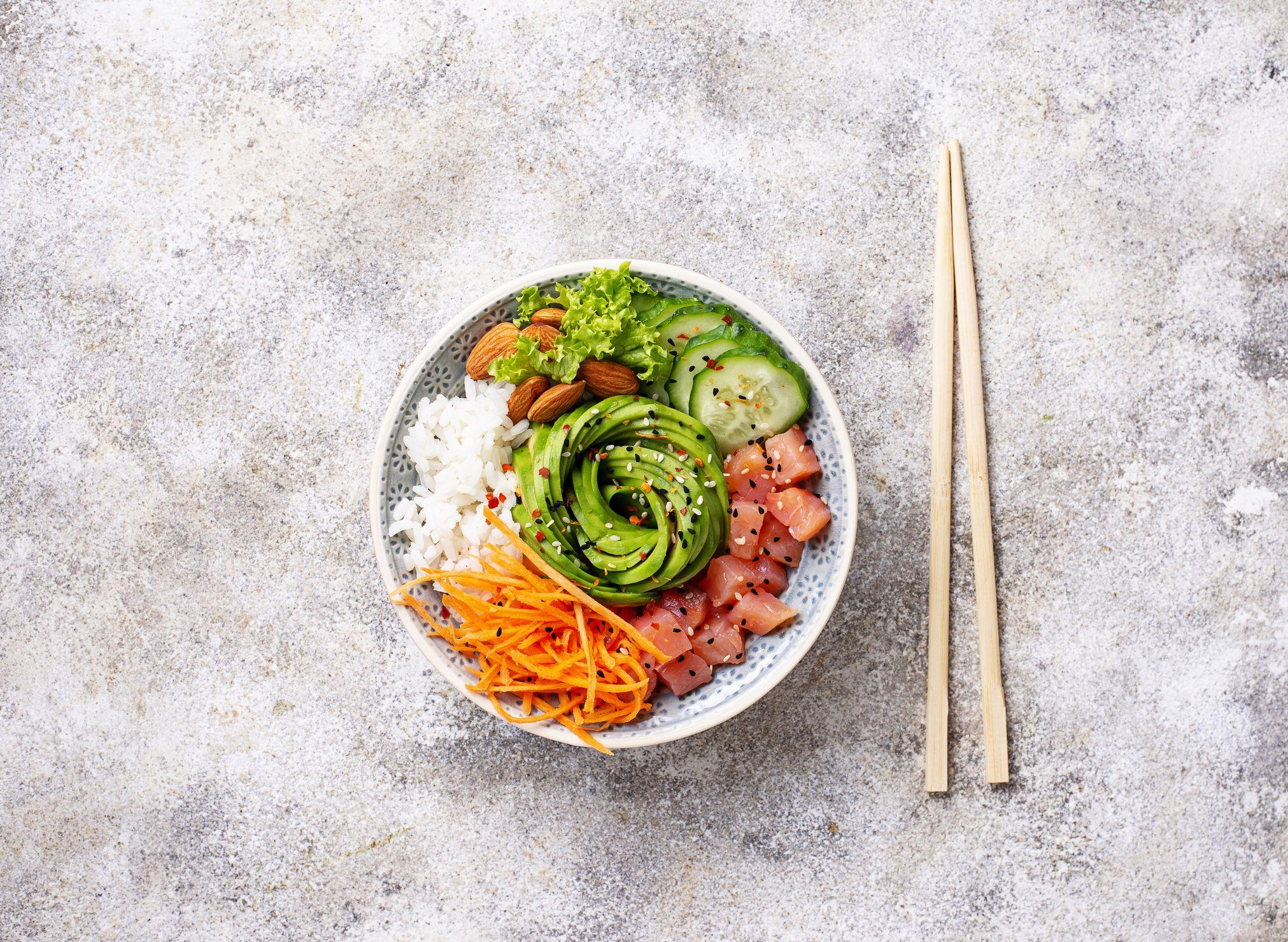 seguir una dieta saludable traduccion