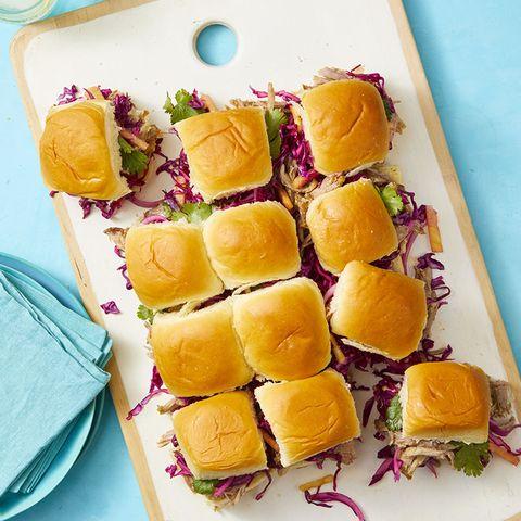 4th of july menu  hawaiian pork pull apart rolls recipe