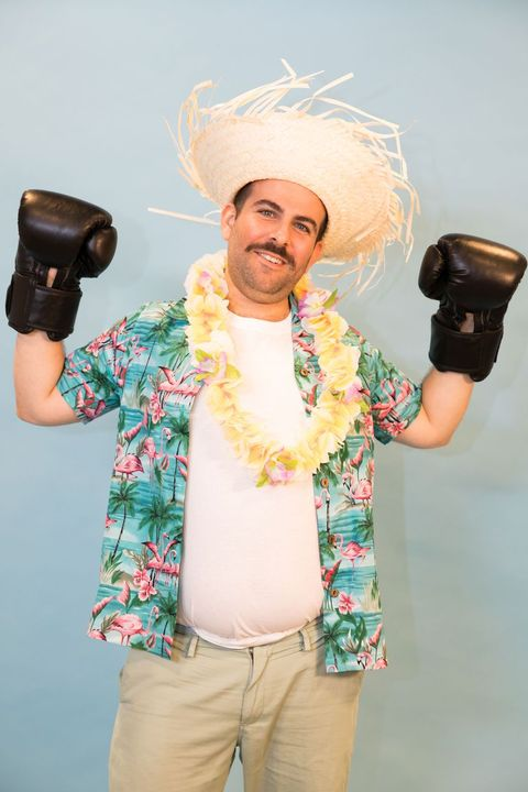 Best Mens Halloween Costume Ideas - Hawaiian Punch Costume