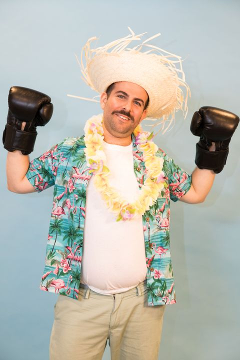 hawaiian punch pun halloween costume