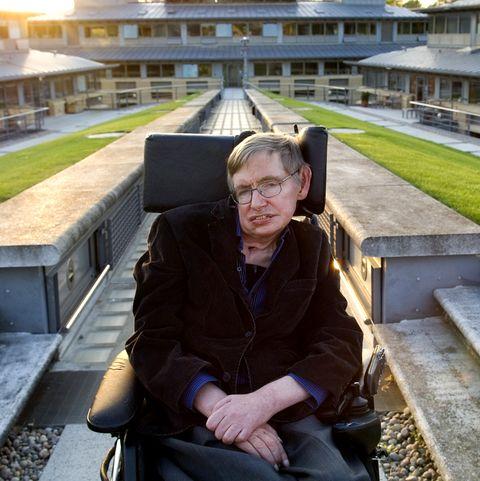 Professor Stephen Hawking, British theoretical physicist