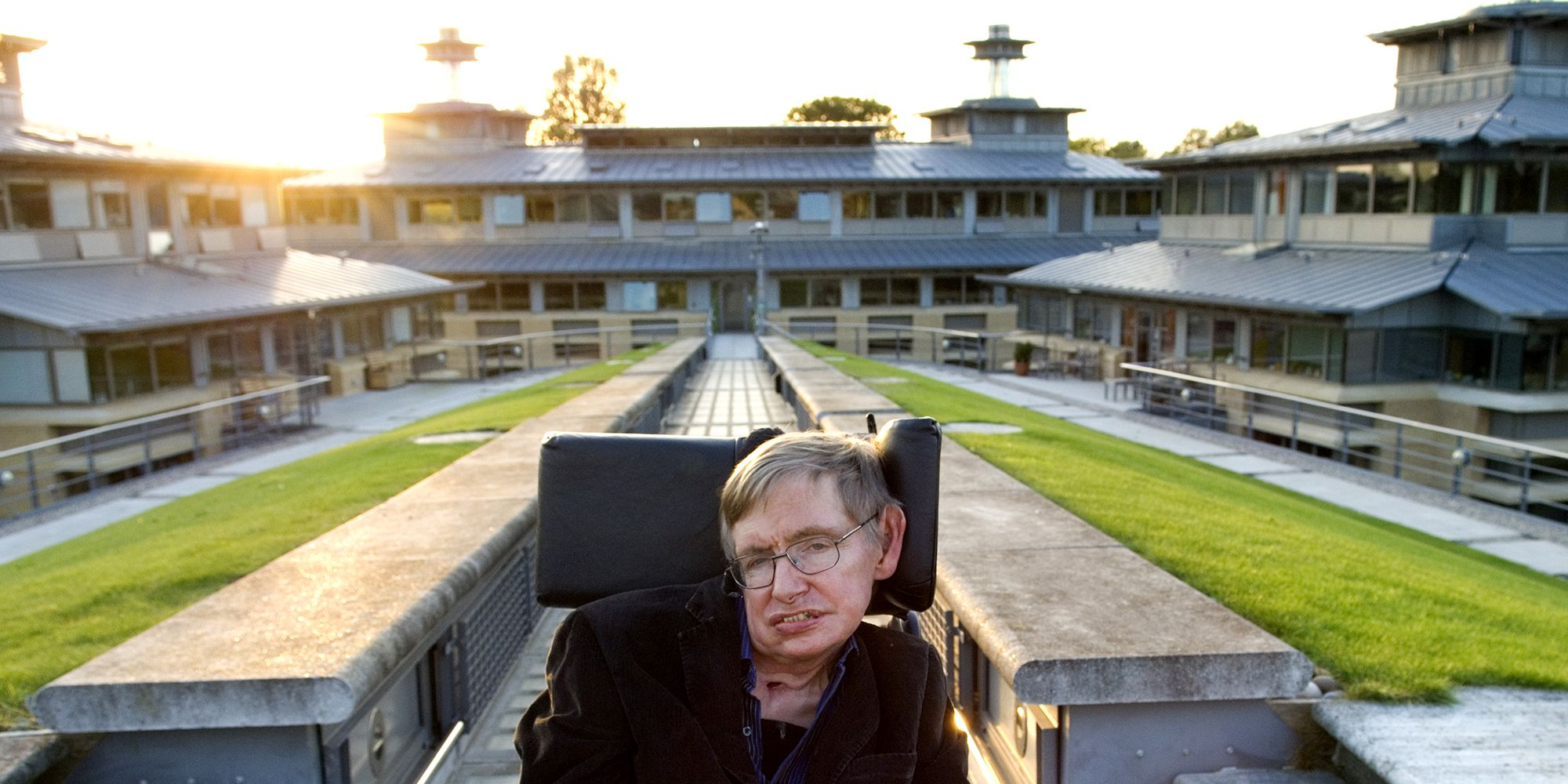 Professor Stephen Hawking, British theoretical physicist