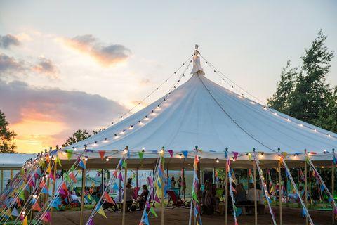 Hay festival photo