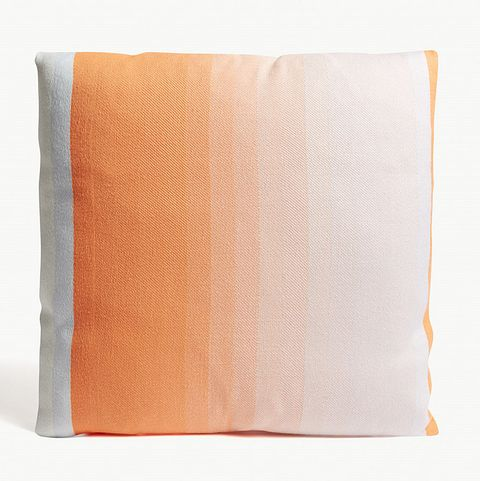 HAYStriped merino wool cushion