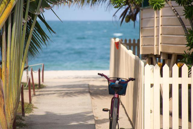 bicycle near the beach