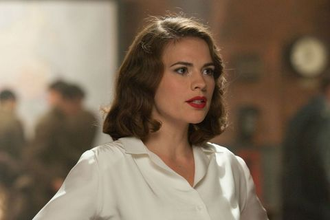 hayley atwell as peggy carter in captain america the first avenger
