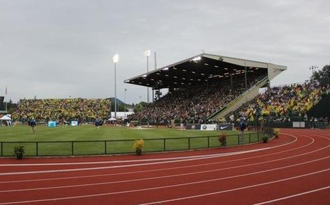 NCAAs at Hayward Field Through 2021