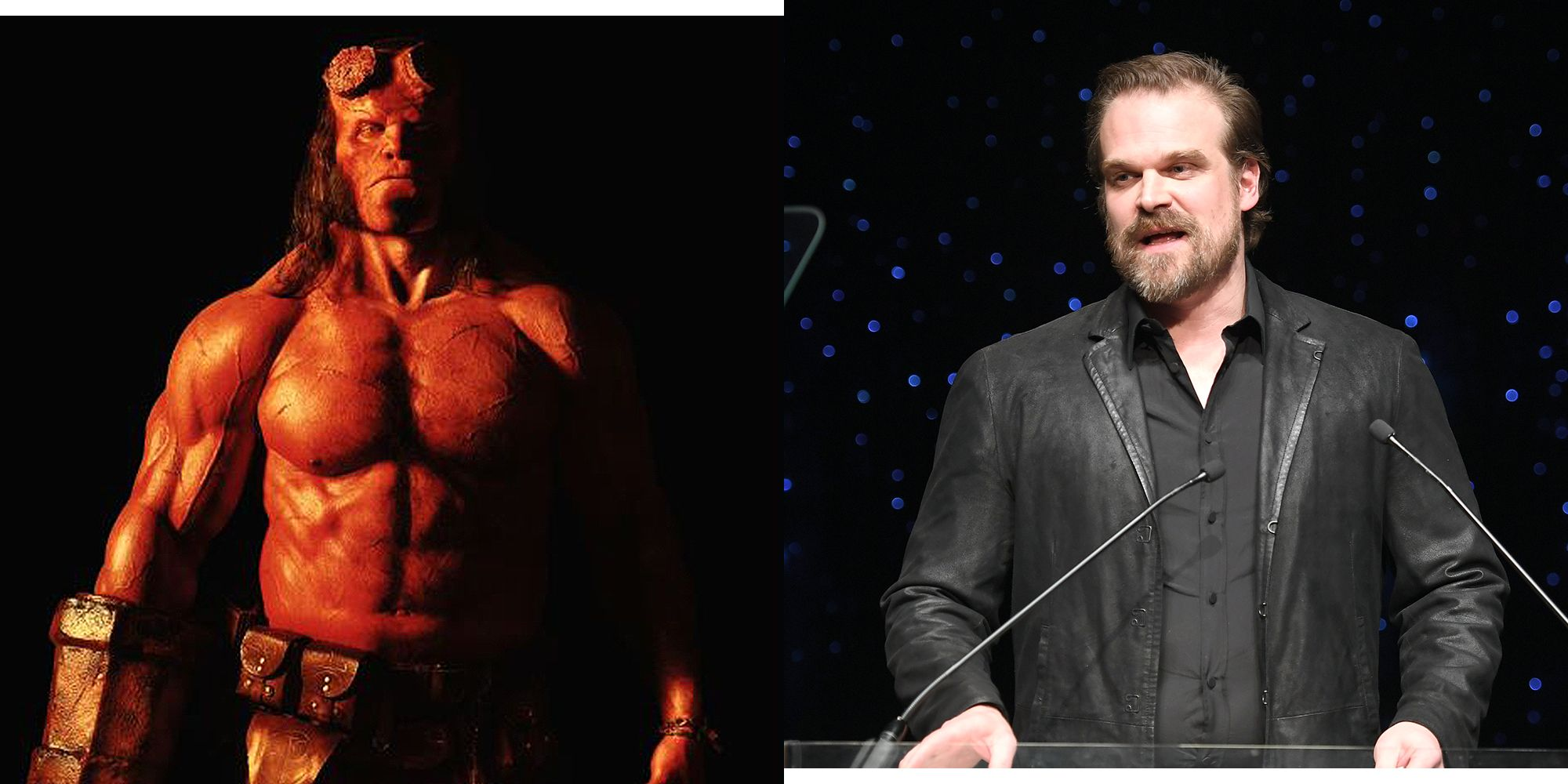 How David Harbour Got ...