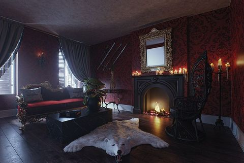 You Can Stay Overnight In The Addams Family Mansion This Halloween