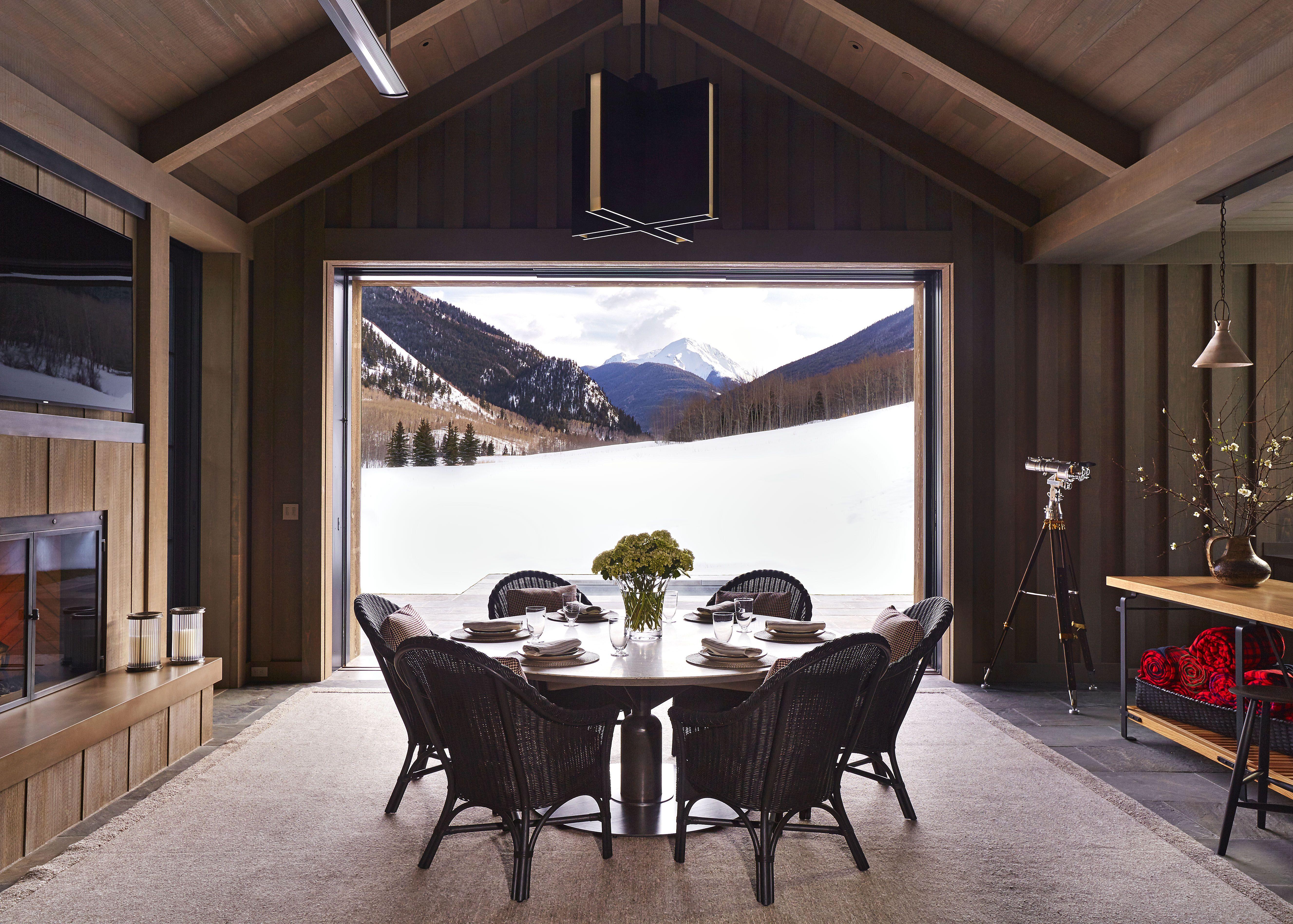 How to Design a Modern Mountain Home - Brad Krefman Aspen House