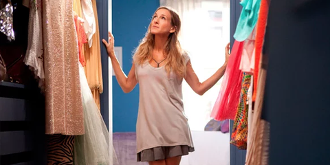 Carrie Bradshaw's Closet
