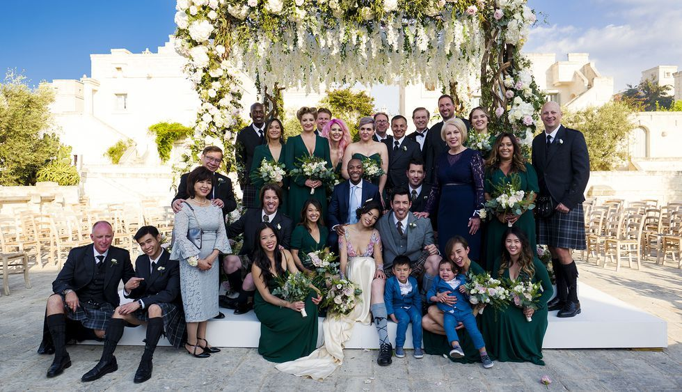 Drew Scott And Linda Phan's Wedding In Italy