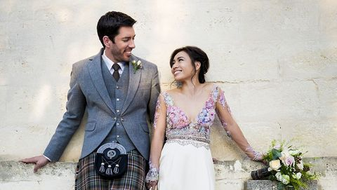 Drew Scott And Linda Phan Wedding Property Brothers Wedding