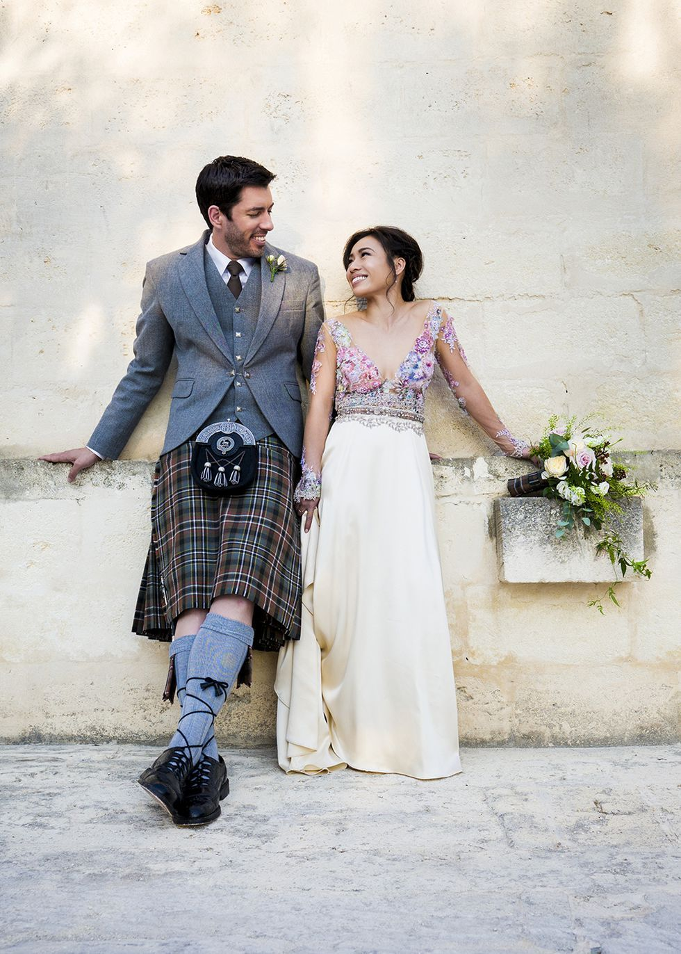 Drew Scott And Linda Phan's Wedding In Italy