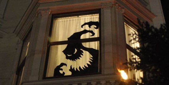 Oogie Boogie Window Cling