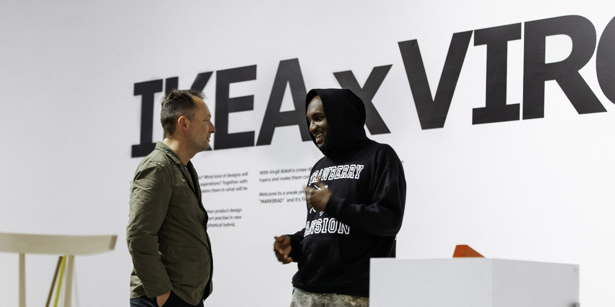Virgil Abloh S Ikea Rugs Are Going For Thousands On Ebay