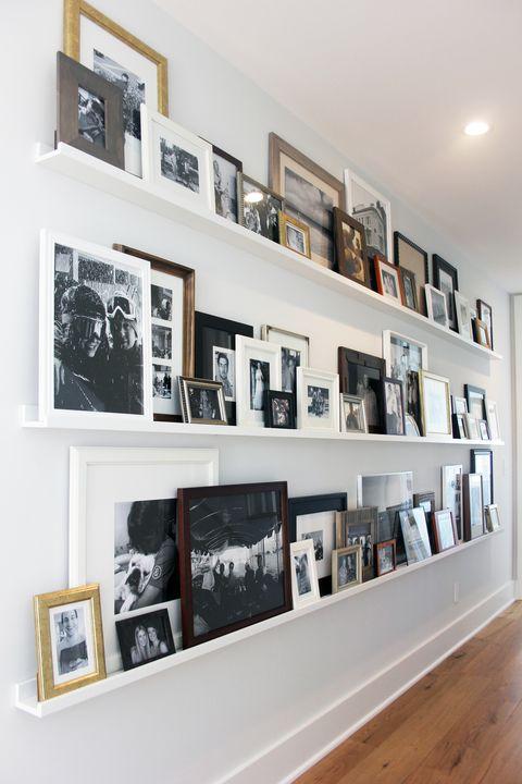 Gallery Shelves 层板展示照片组合