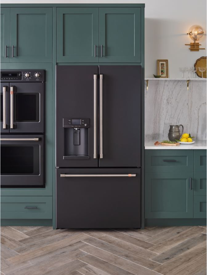 GE Matte Black Kitchen