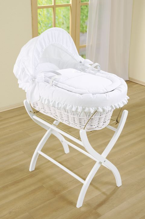 Furniture, Product, Infant bed, White, Chair, Baby Products, Bed, Cradle, Wicker, Comfort,