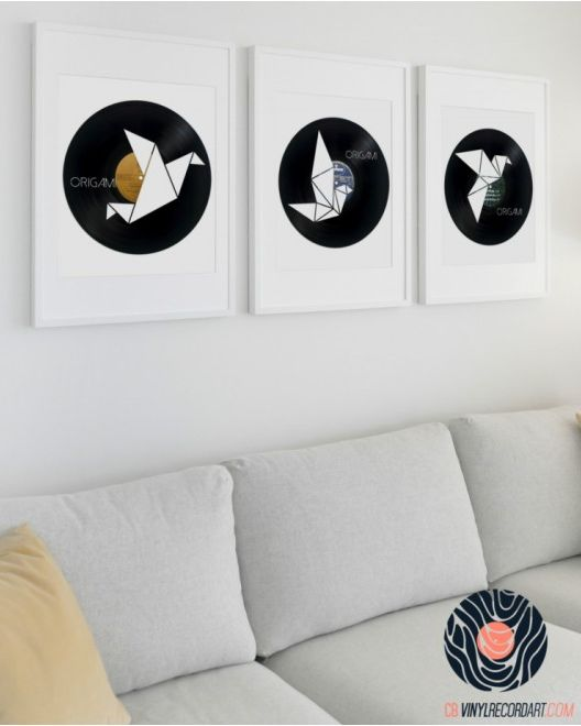 CB Vinyl Record Art