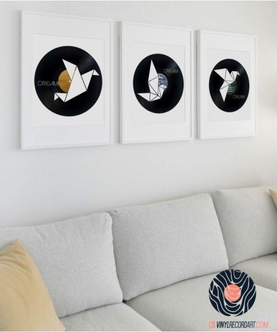 CB Vinyl Record Art