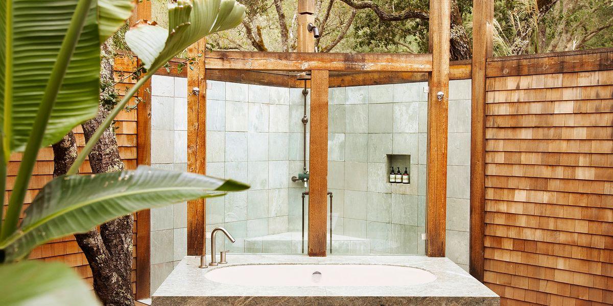 Best Outdoor Shower Ideas Design Inspiration Amp Pictures