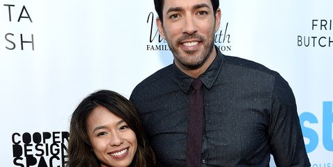 Property Brothers Star Drew Scott With Wife Linda Phan