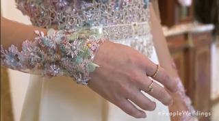 Linda Phan Wedding Dress Details