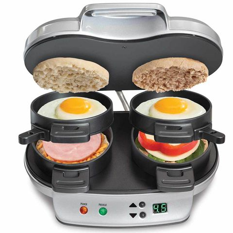 Food steamer, Kitchen appliance, Small appliance, Meal, Dish, Contact grill, Breakfast, Home appliance, Food, Cuisine,