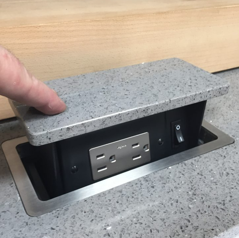 S Box Pop Up Outlets Hide Into Your