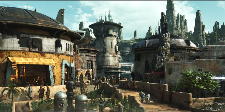 Star Wars Theme Park at Disneyland