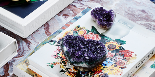 How Healing Crystals Are Used in Design - Crystal Decor Trend