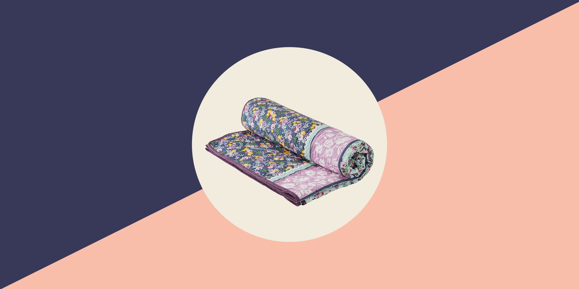 Morrisons' floral bedspread is £248 cheaper than this designer version