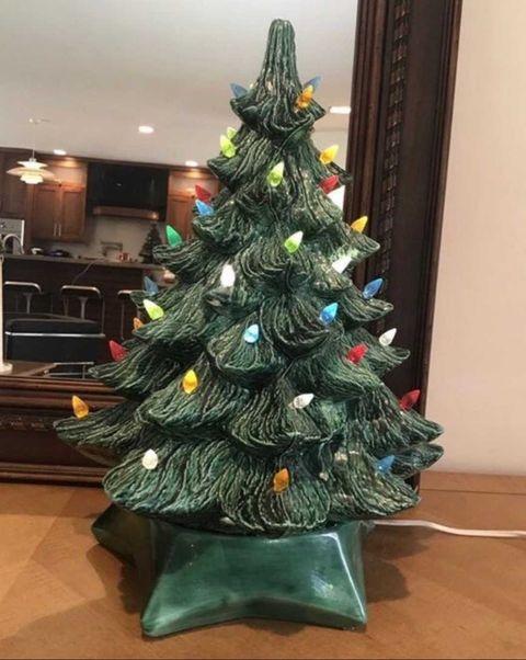 Ceramic Christmas Tree Painting Ideas.Ceramic Christmas Trees Bring In 100 200 On Ebay
