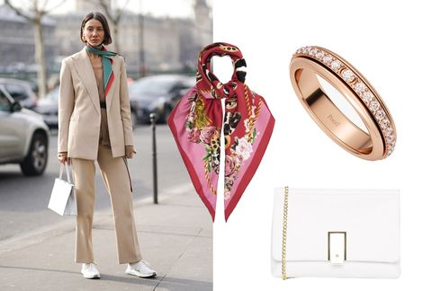 Pink, Fashion, Street fashion, Fashion accessory, Jewellery, Outerwear, Dress, Fashion design, Formal wear, Style,