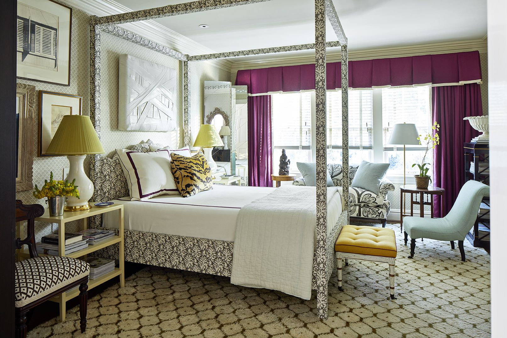 Large Bedroom Interior Design Eclectic master bedroom ideas