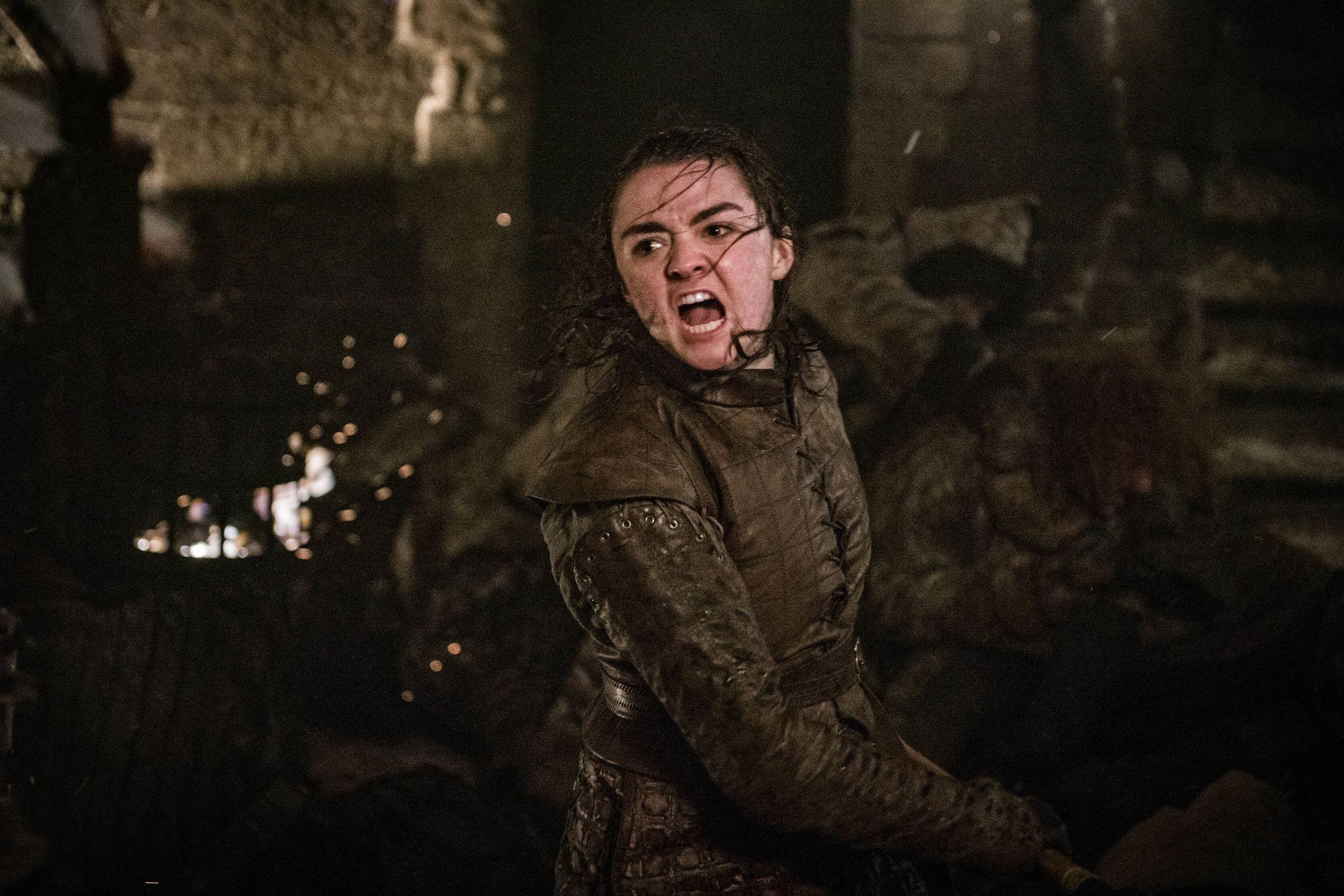 Juego de Tronos Daga Arya Stark - Daga Acero Valyrio