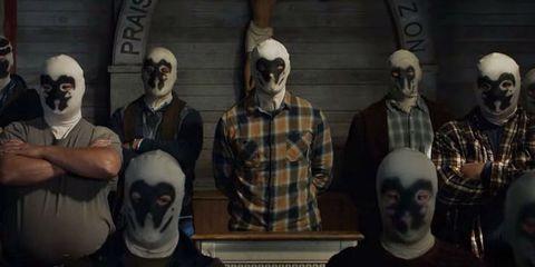 Rorschach Secta Watchmen HBO
