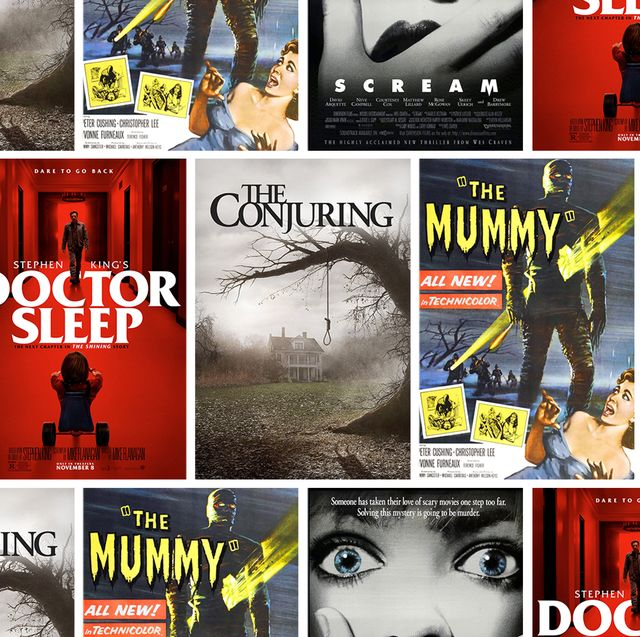 horror movie posters